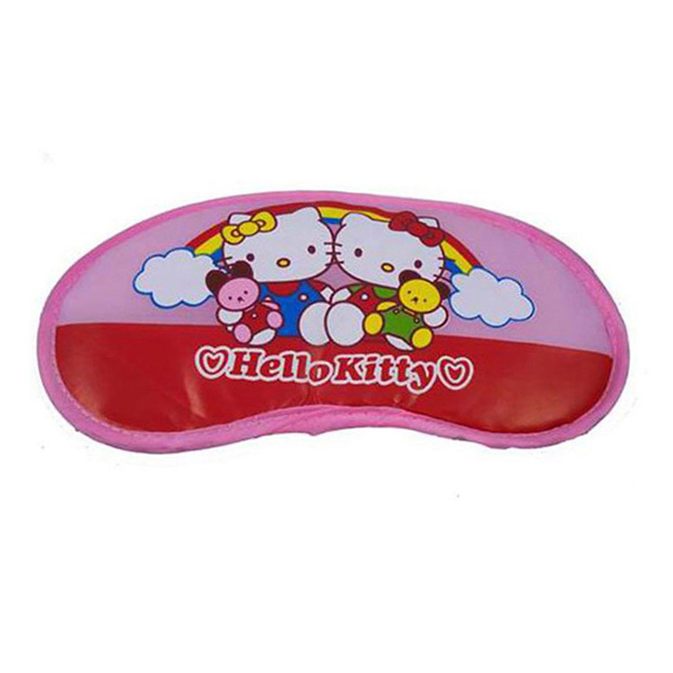Cute cartoon comfort eyeshade Hello Kitty inflatable doll
