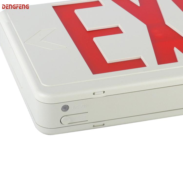 Newest design America market exit sign emergency light emergency led