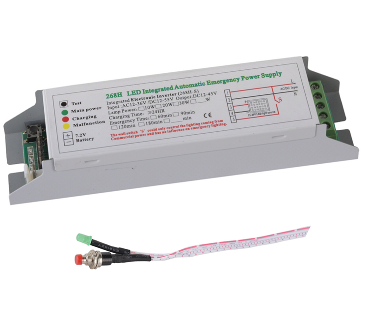 china suppliers  led emergency kit 268H special emergency power for low-voltage lamps emergency light battery pack