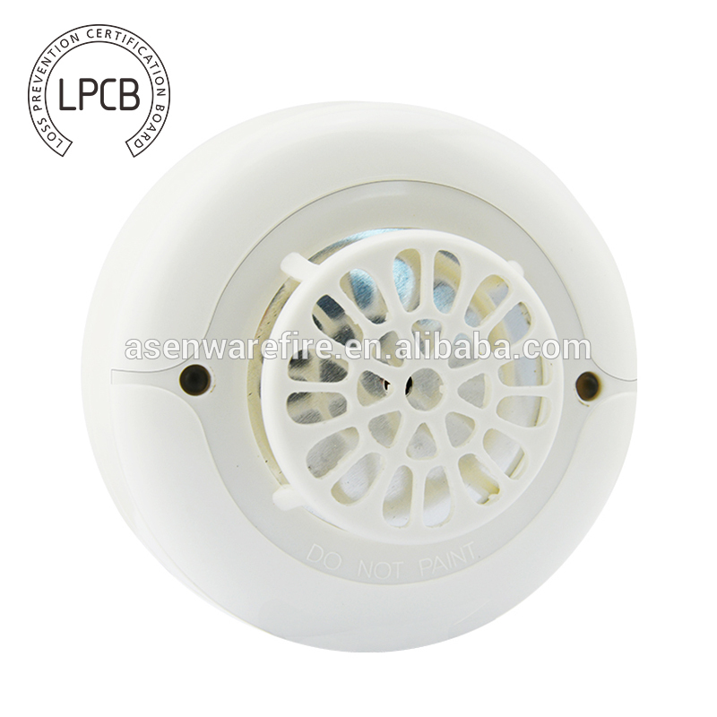 heat fire alarm with LPCB certificate from Asenware Ltd