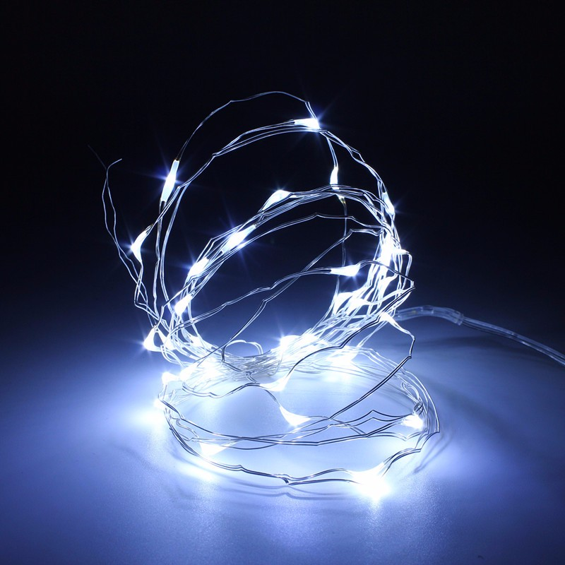 10M 100leds LED String wire copper wire light with DC Female Connector