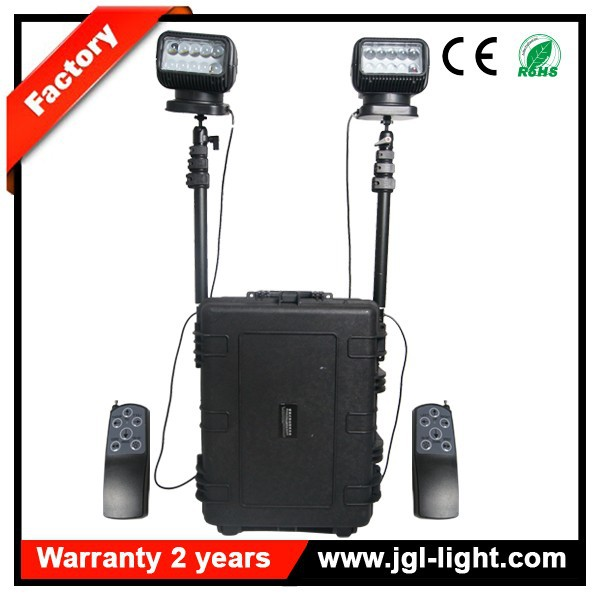 2015 Factory 100w remote control light Model 5JG-RLS54-100LRC rechargeable searchlight