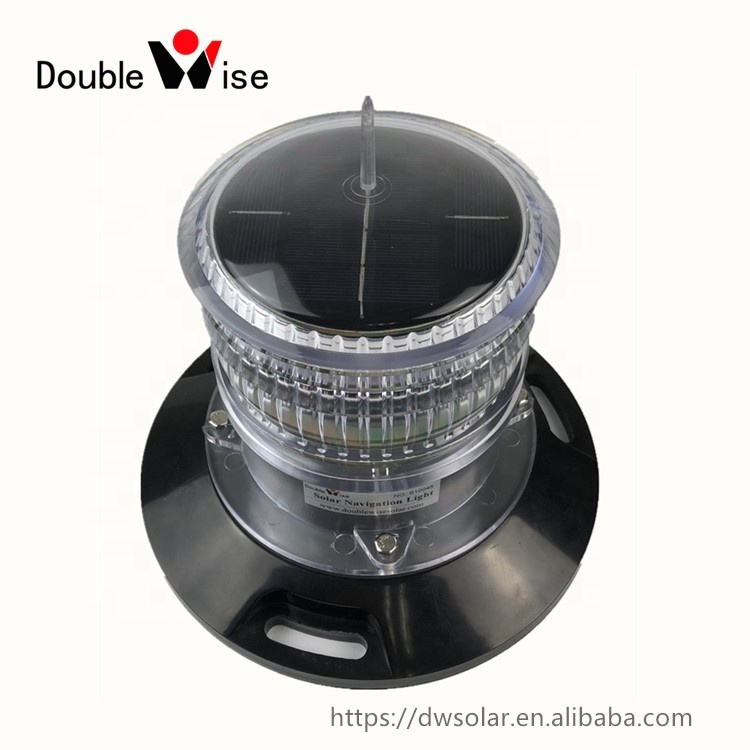 DOUBLEWISE Marine Solar Power Led Navigation Buoy Light