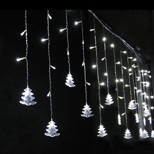 Christmas led outdoor motif decoration 2017 tree for wedding decoration party