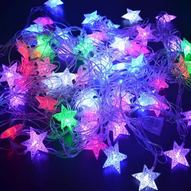 High quantity 6m Copper christmas led light strip decoration light for Weddings School Party