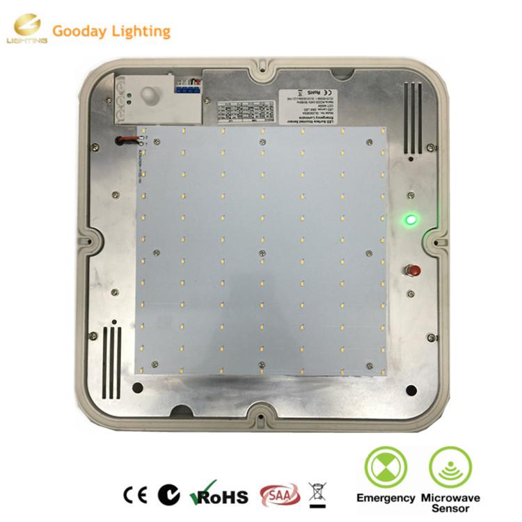 lighting australia saa square bunker light emergency sensor bulkhead