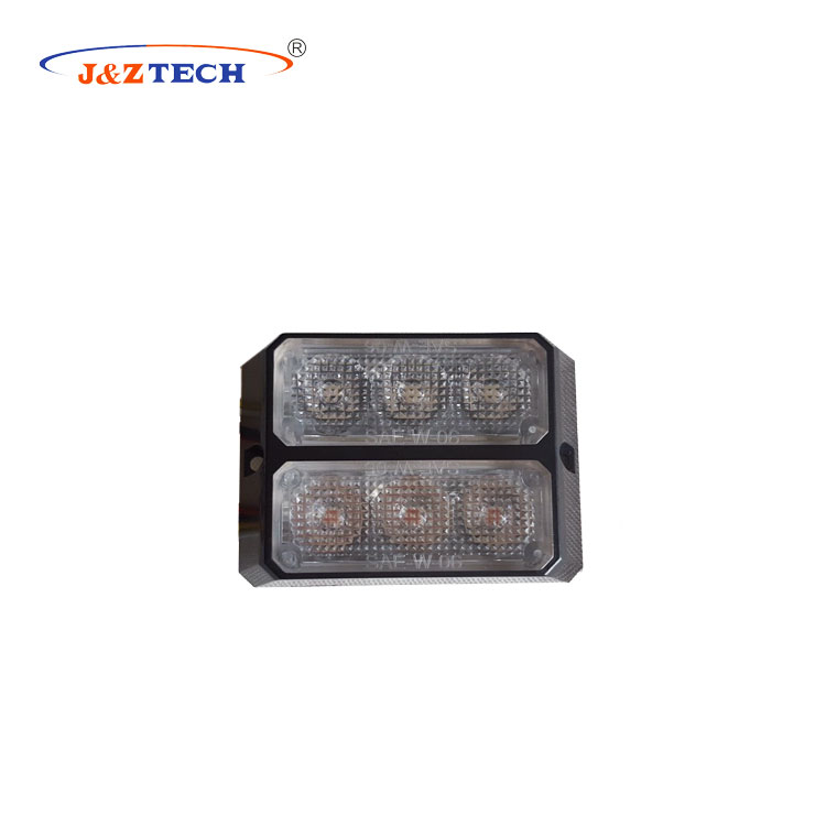 Double Row Led Warning Light and Flash light with LED lighthead