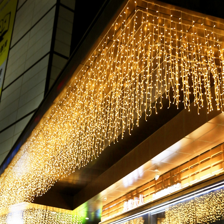 hot sell 3*1 meter led waterfall string light for Christmas holiday