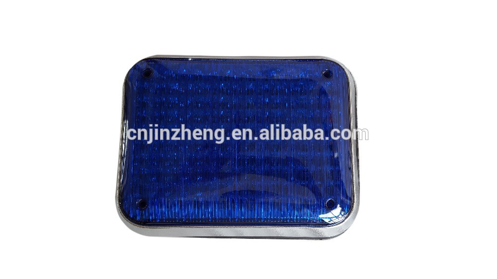 9*7 inch high quality  truck blue lights for ambulance