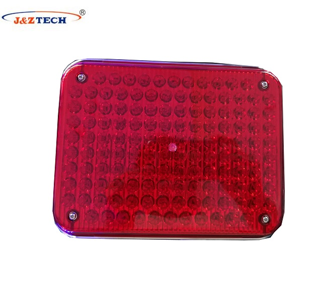 Amber square led ambulance lights