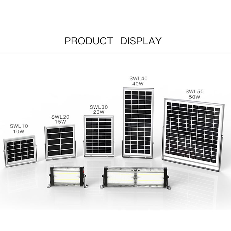 Outdoor IP65 solar wall lamps item type 10w led wall light