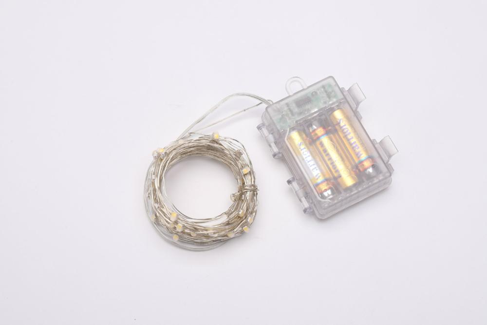 RGB Fairy String Light with Remote Control IP65 Waterproof 16 Color Timing 4 Modes Dimmable for Outdoor 1m 2m 3m 4m 5m 10m