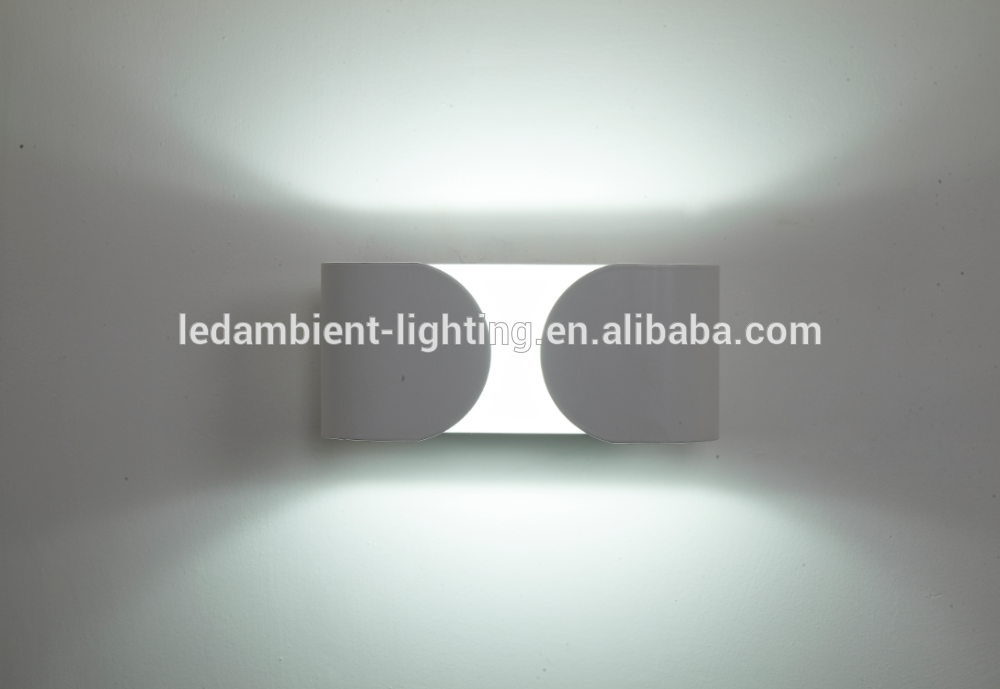 New aluminum 7w 12w LED wall light mounted wall sconce light