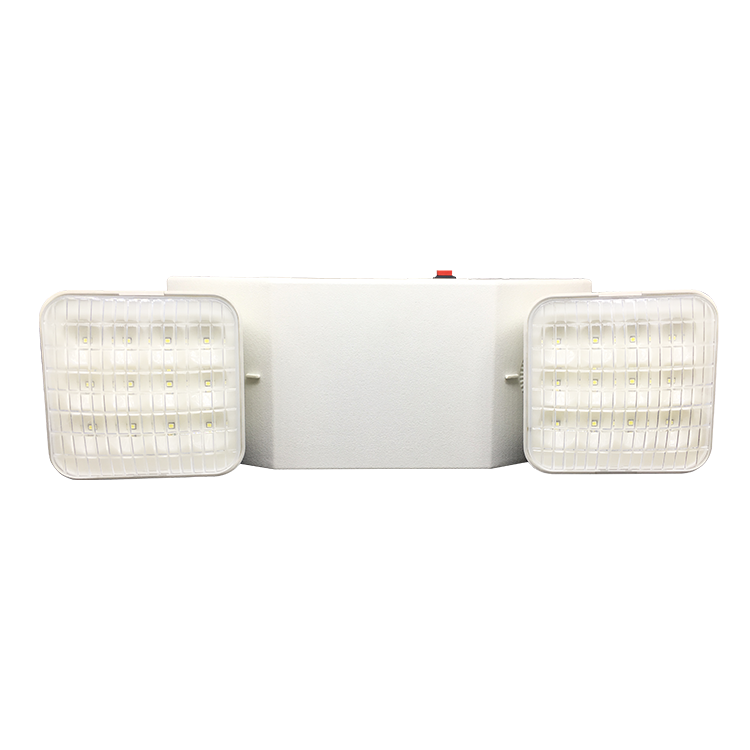 Non Maintained Spot Luminaire Industrial Corridor Fixture 3H Emergency Light With Twin Head