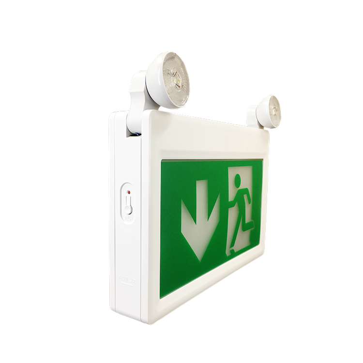 Electrical Emergency Bulkhead Rechargeable Best Quality Symbol Selfcontained Twin Spot Led Light