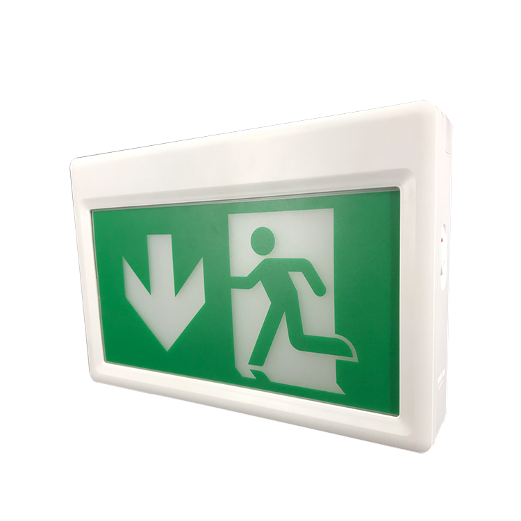 Double Sided Exit China Supplier Emergency Yellow Led  Sign Light