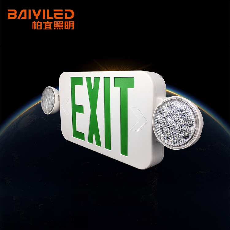 Safety Equipment Exit Ip65 Emergency Lantern Cb Two Head Light