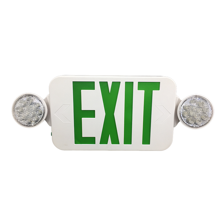 3 Hour Led Emergency 40m Area Refuge Edge-lit Exit Sign Usa