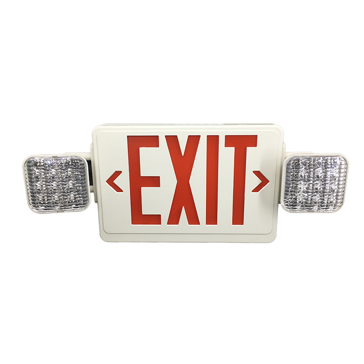 Wall Mount Twin Spot Maintained Plug Led Emergency Light Fixture