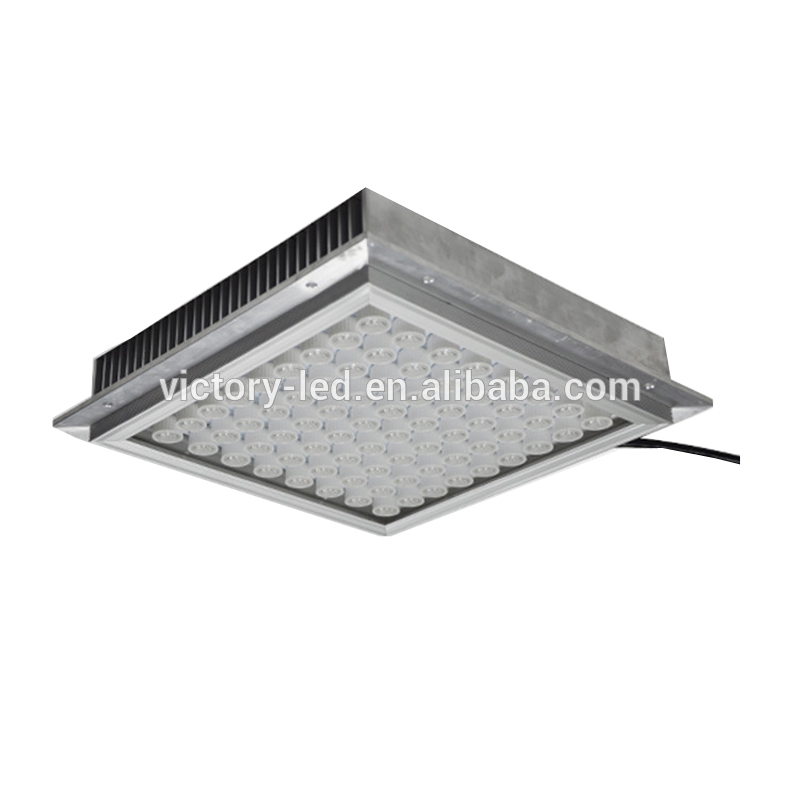 New products 2018 hot sell led waterproof light led canopy light 100w