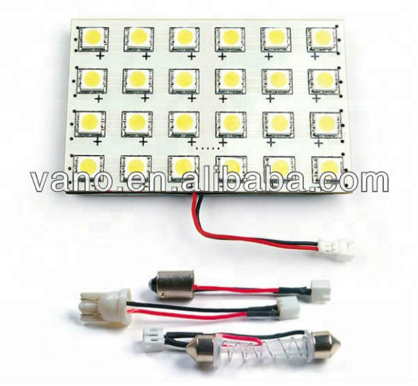 Auto wedge bulb for led panel light with many connector