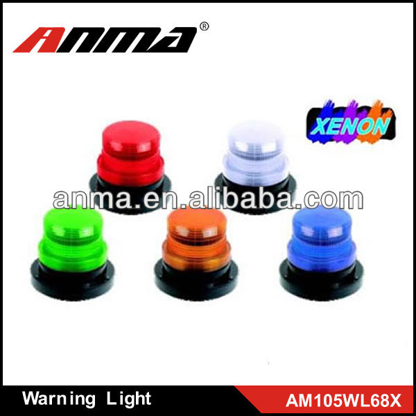 Orange yellow,bule and red DC12V 24V car and truck LED warning light used police warning lights