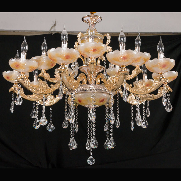 Bedroom Crystal Glass Material Creative Nordic Style Chandelier