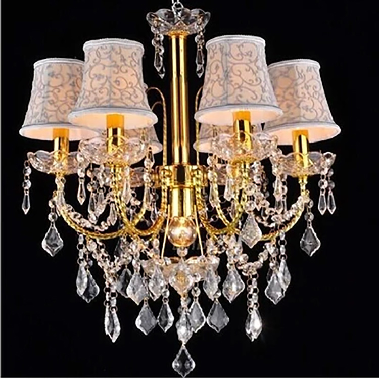 Wedding Occasion Rain Drop Crystal Chandelier Stairs Lamp