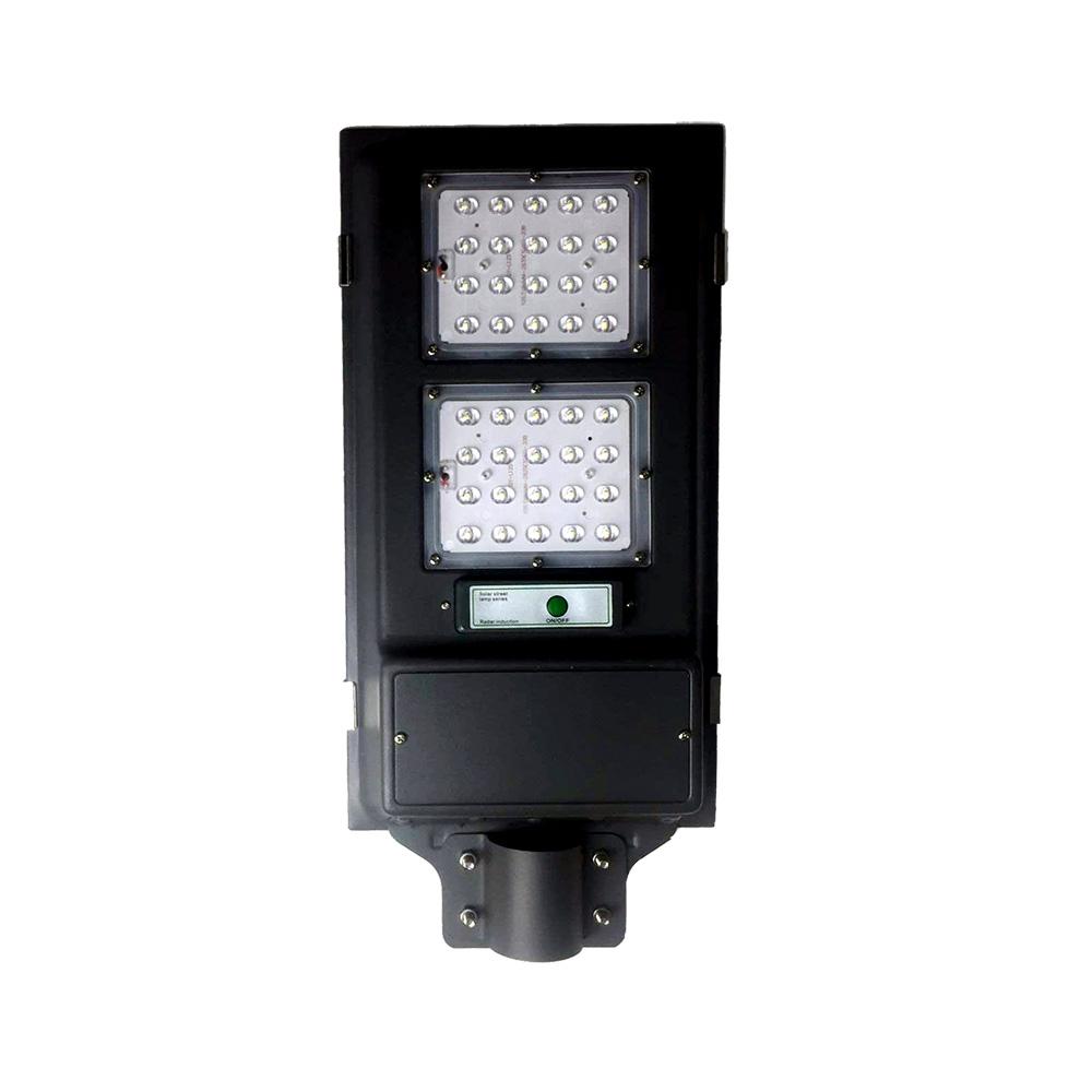 Ip65 waterproof outdoor motion sensor led integrated solar all in one intelligent 40 watt street light