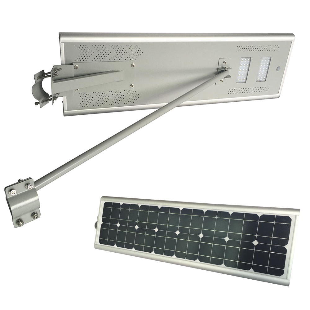 New Design Good Price 10w - 60w All In One Solar Led Stree Light