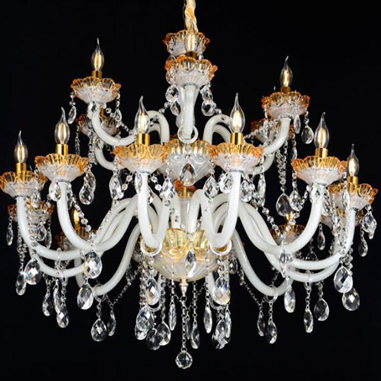 Indoor Lighting Glass Ball Classical Household Chandelier