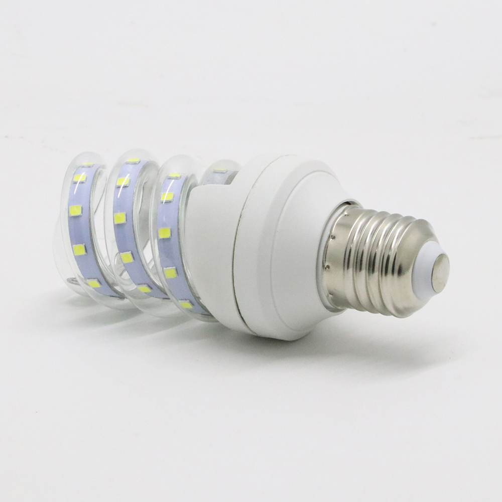 Super Bright Spiral 5W 7W Energy Saving Bulb 85-265V Led Corn Lights E27