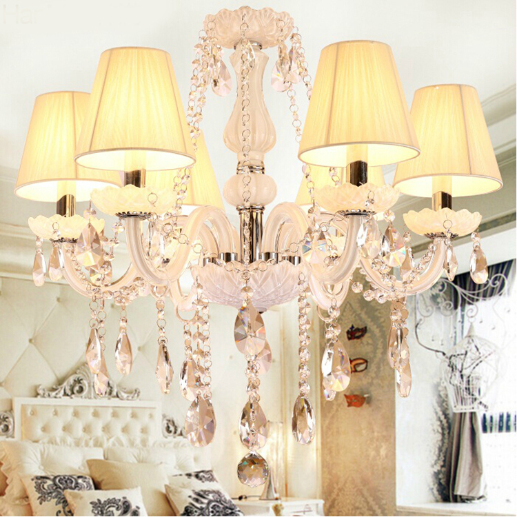 Large K9 Clear Crystal Crystal Chandelier Ceiling Light Chrome