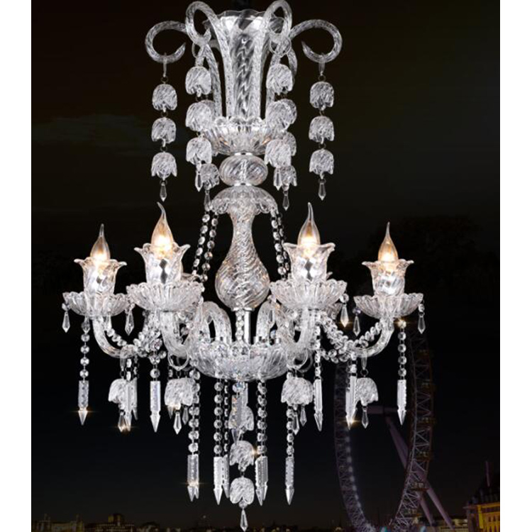 Medieval Hotel Restaurant Crystal Pendant Chandelier Lights