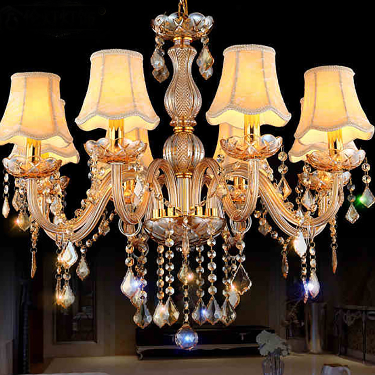 Dining Room Shining Crystal Custom Banquet Baccarat Chandelier