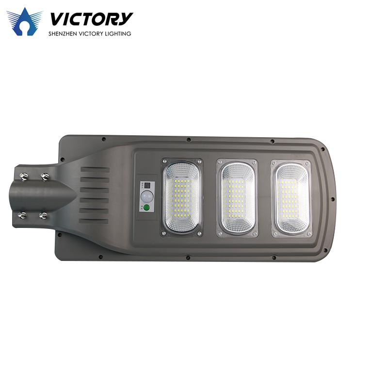 High power motion sensor all in one 40 watts 60 watts solar energy led street light