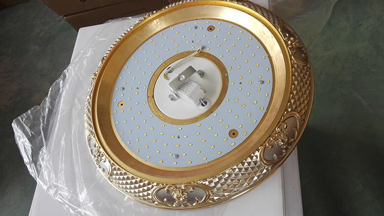 Ultra Thin Energy Saving White Fireproof Cordless Ceiling Light