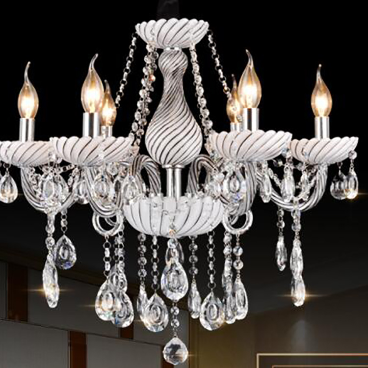 Wholesales Vintage Style Crystal Hanging Chandelier Gold