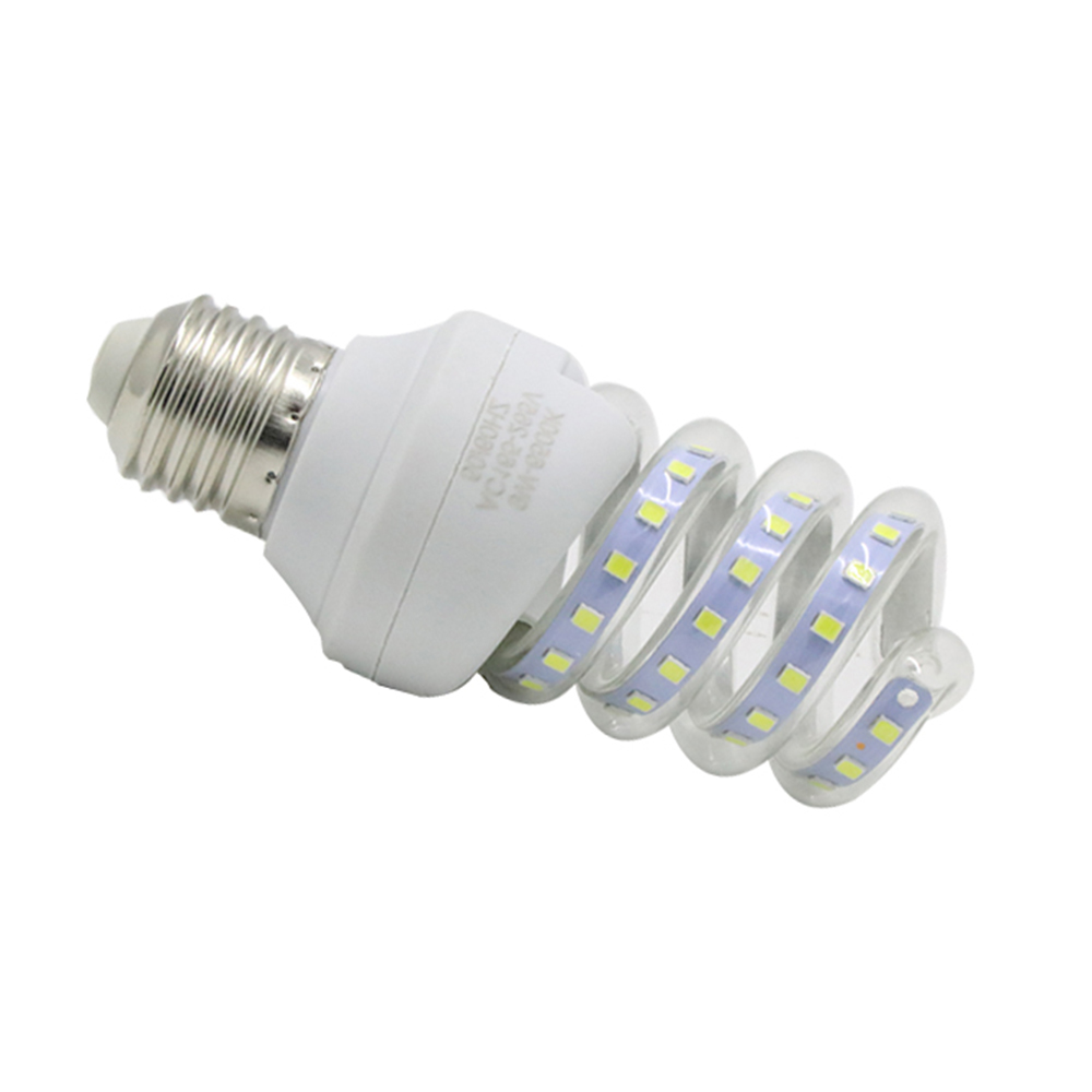 LED Bulb Energy Saving E27 B22 SMD LED Light 5W Spiral LED Corn Bulb