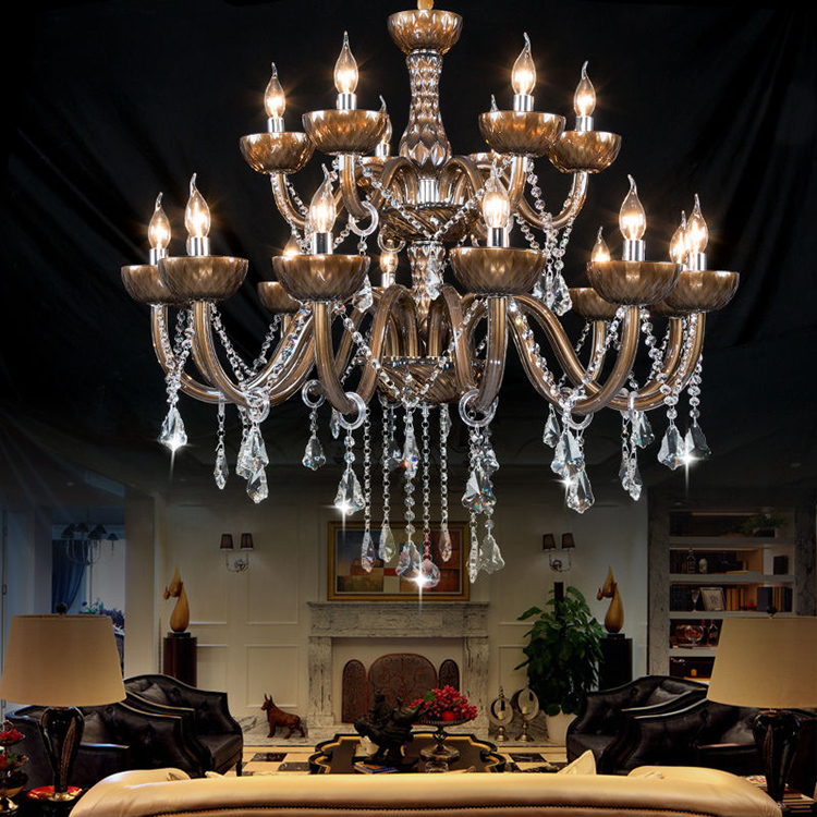 Wedding Decoration Hotel Contemporary Cristal Chandelier