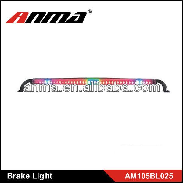 High quality material car brake light white LED flashing turning leftright light