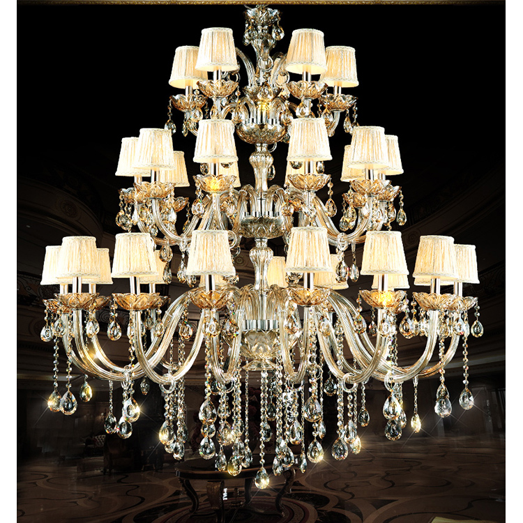 Wedding Hall Home Decoration Cristal Chandelier Wholesale
