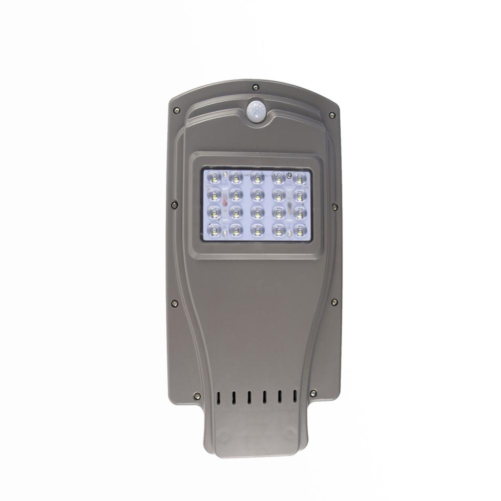 LED outdoor waterproof IP65 light control street light 20W 40W 60W integrated led solar street light with 2 years warranty