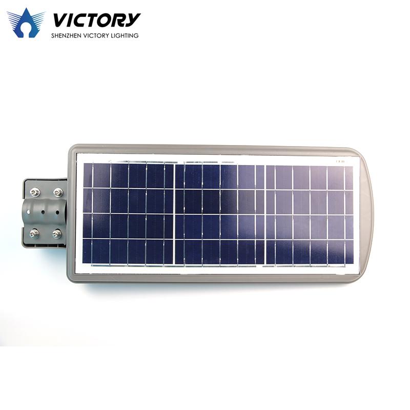 Lamp solar street light motion sensor 60 watt led solar panel street light