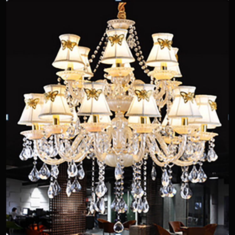 Wedding Occasion Rain Drop Classical Crystal Chandelier Lighting