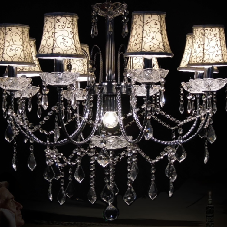 Factory Direct Italian Custom-Made Crystal Chandelier